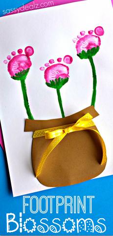 footprint-flower-craft-for-kids