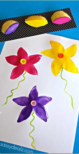 potato-flower-stamping-craft
