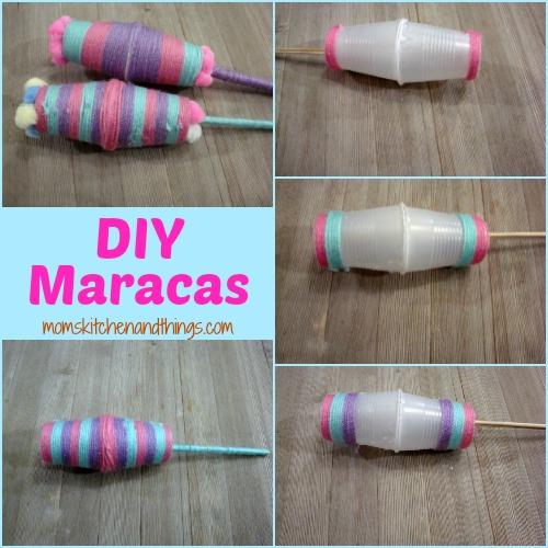 DIY Plastic Cup Maracas