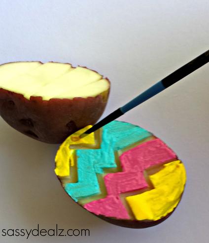 potato-stamp-craft-